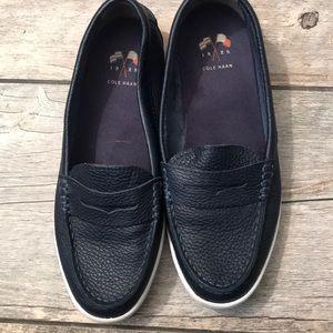 Cole Han blue shoes